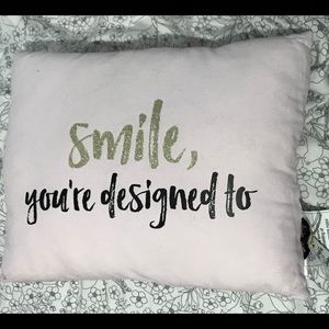Other - 🧩3/$30: NEW decorative pillow